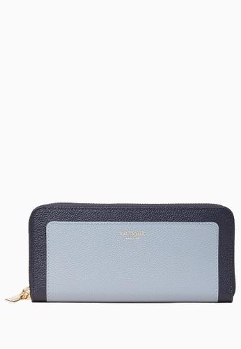Kate Spade navy Kate Spade Margaux Slim Continental Wallet - Blue 7304CAC86BD83CGS_1
