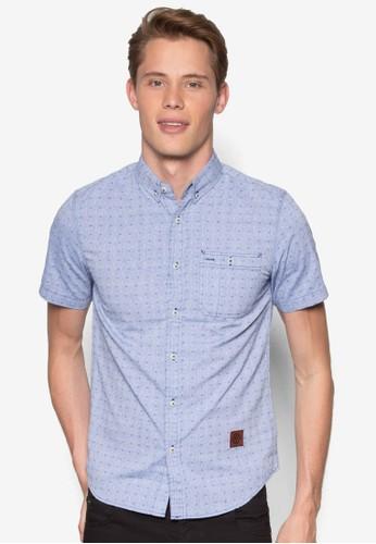 Short Sleeve Woven Shirt, 服飾esprit holdings, 襯衫
