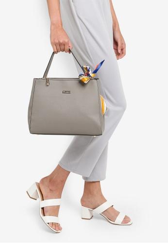 PLAYBOY BUNNY grey Ladies Handbag 80BCAAC9347D95GS_1