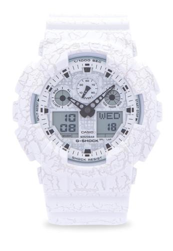 Casio white Casio G-Shock Digital Aanalog GA-100CG-7A CA076AC0ILGZPH_1