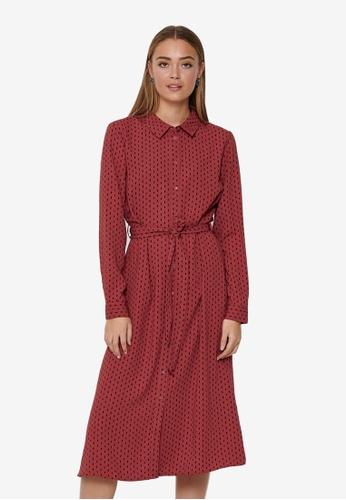 JACQUELINE DE YONG brown Barcelona Shirt Dress B1A71AA5F610ADGS_1
