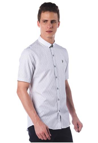 POLO HAUS green Polo Haus - Short Sleeve Shirt (Green) PO783AA85JNUMY_1