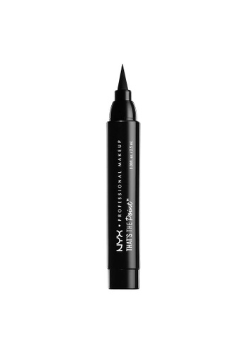 NYX Professional Makeup black NYX Professional Makeup That's The Point Eyeliner - Put A Wing On It 0538DBEA939E1BGS_1