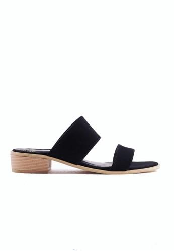 FairyBerry black Clara Strap Sandals FA692SH97HGOID_1