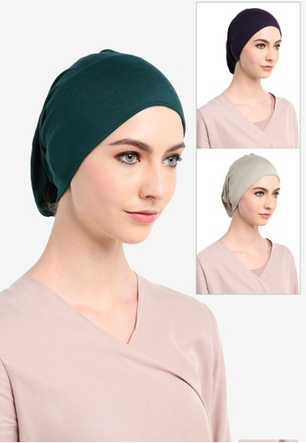Najjah green and blue and multi Inner Set 4C513AAEBAD25FGS_1