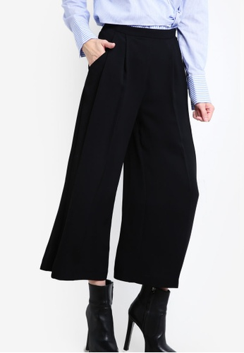 official site low price sale uk Crop Wide Legged Trousers