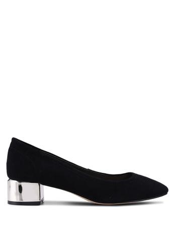 ALDO black Leonora Block Heels B528DSHE23E938GS_1
