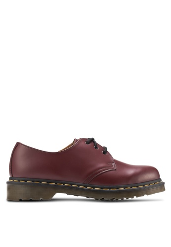 Dr. Martens red Core Originals 3-Eyelet Shoes DR086SH79ITSSG_1