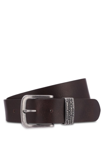 Tommy Hilfiger brown THD NY METAL LOOP BELT 4.0CM TO861AC0SYHGMY_1