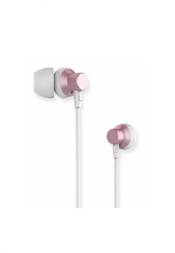 Stylebox pink Remax RM-512 Metal Wired Music Earphone CCB12AC5DA48DCGS_1