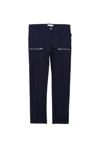 Chloé blue Chloé Trousers with French Embroidery 27A9AKA4C49461GS_1