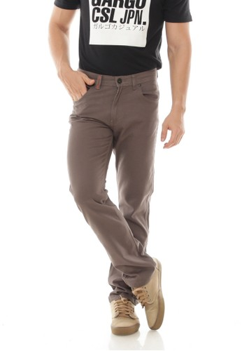 Gargo grey Casual Pants Basic 22EFDAAEE1FF86GS_1