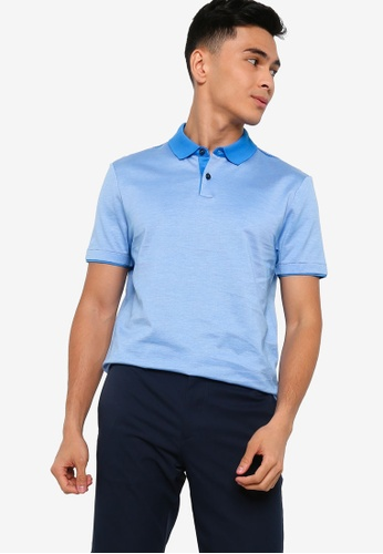 BOSS 藍色 Pitton 11 Polo Shirt BF8F3AAA28A930GS_1