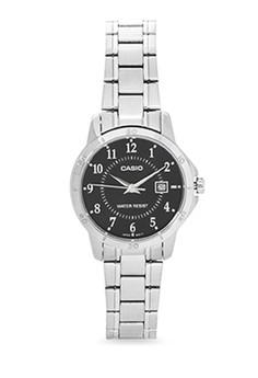 Round Analog Watch LTP-V004D-1B