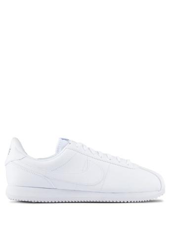 Nike white Men's Nike Cortez Basic Leather Shoes NI126SH0RMVRMY_1