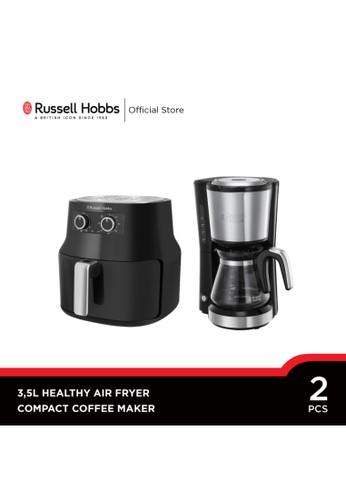 Russell Hobbs black Bundling Russell Hobbs 3.5L Healthy Air Fryer - Compact Coffee Maker 1AC57ESC62AC9EGS_1
