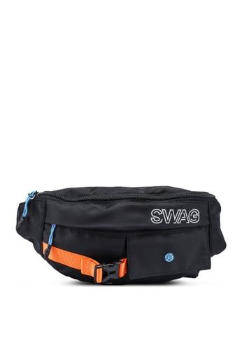 361° black Sports Life Waist Bag B0473AC0E45031GS_1