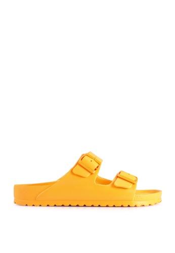 Birkenstock yellow Arizona EVA Sandals 628FASH74E445FGS_1