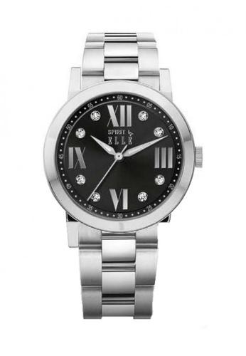 ELLE black Fashion Ladies Watch SP241AC39UDCMY_1