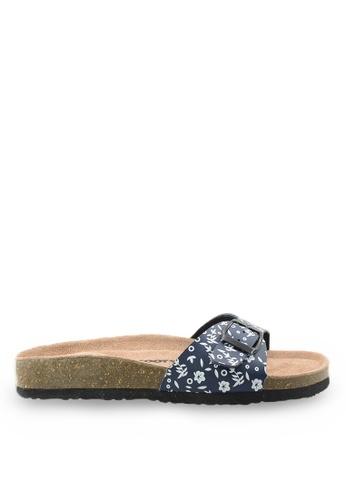 Footspot blue Footspot - Classic Cork Sandals FO296SH43EBGHK_1