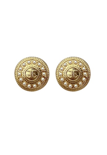 Kings Collection gold Victorian Earrings (KJEA20048) 03AE9AC7B25253GS_1