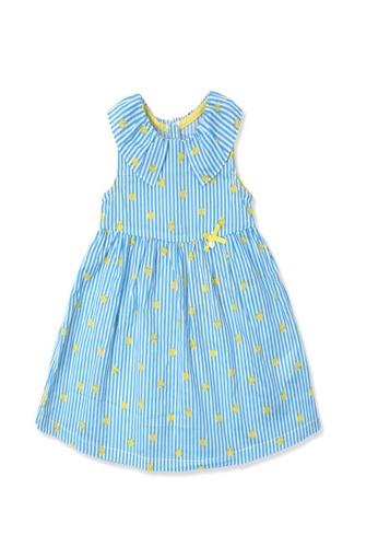 Organic mom yellow and blue Organic Cotton Tod Tadpole  Dress 10AB9KAA0CAE78GS_1