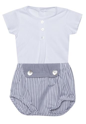 RAISING LITTLE grey Jorge Outfit Set 38360KA39C4ED7GS_1