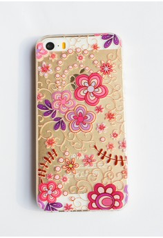 Flowers Soft Transparent Case for iPhone 5, 5s, SE