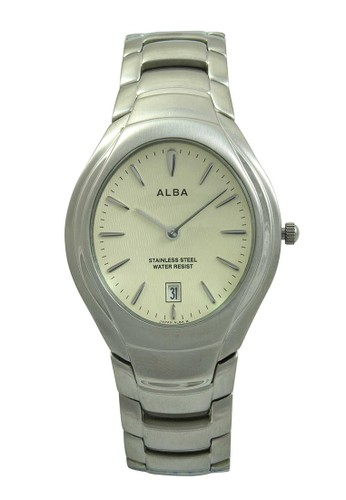 Alba silver ALBA Jam Tangan Pria - Silver Ivory - Stainless Steel - AVKC45 AL383AC51XRGID_1