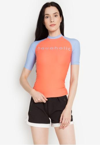 Aquaholic orange Jana Rashguard AQ609US0KFF0PH_1