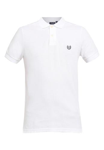 Chaps black Chaps Cotton Mesh Polo Shirt  6E812AAEC1D418GS_1
