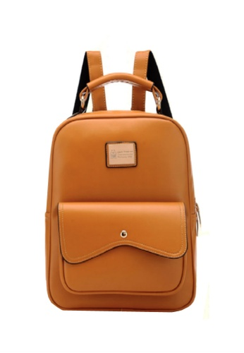 TCWK brown Ladies Backpack TC258AC95MUEMY_1