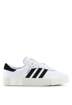 newest 73010 52bfd adidas white adidas originals sambarose w sneakers 6FA4CSHC979B6DGS 1