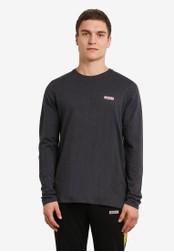 2GO grey Full Sleeve Round Neck T-Shirt 2G729AA0S5Z3MY_1