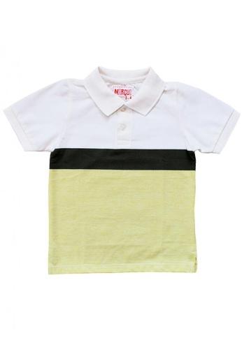 Marcus multi Travis Striped Polo Shirt D2C96KAD702BB0GS_1
