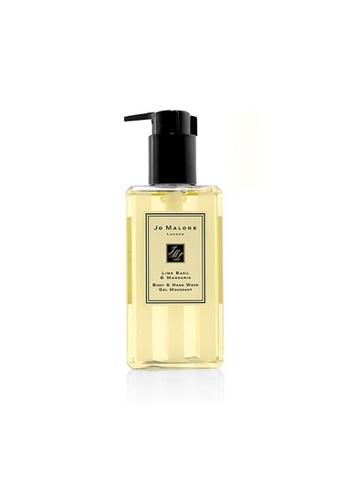 JO MALONE JO MALONE - Lime Basil & Mandarin Body & Hand Wash (With Pump) 250ml/8.5oz 56C7FBE4ADE8EDGS_1