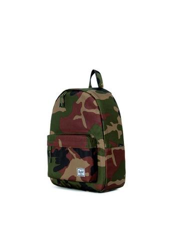 bb2af6e6383 Buy Herschel Herschel Classic Backpack Woodland Camo - 24L Online ...