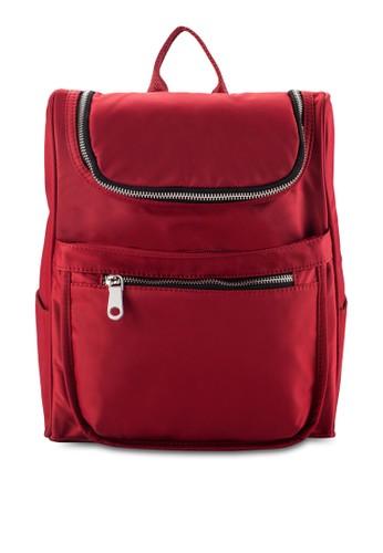 NUVEAU Lightweight Nylon Backpack,zalora 包包 ptt 包, 包