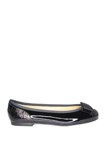 Covet black French Sole Henrietta Ballet Flats CO331SH0JIVFPH_1