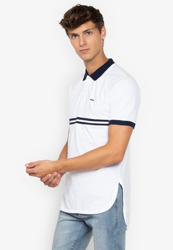 0f64982280f Shop BENCH Striped Polo Shirt Online on ZALORA Philippines