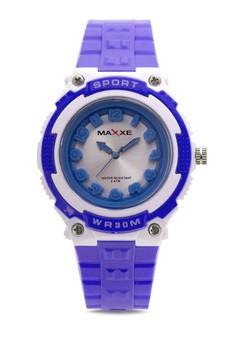 Unisex Rubber Strap Watch MXPO-937B