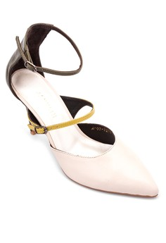 D'orsay Ankle Strap Heels