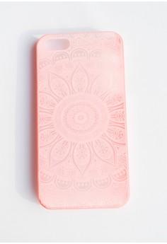 Mandalian Hard Transparent Case for iPhone 5/5s/SE