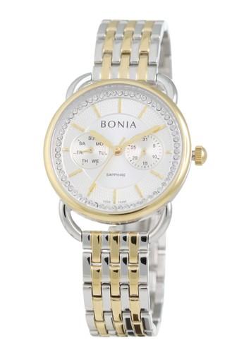BONIA gold and silver Bonia BP10440-2112 - Jam Tangan Wanita - Silver Gold 25FFBACCA152DFGS_1