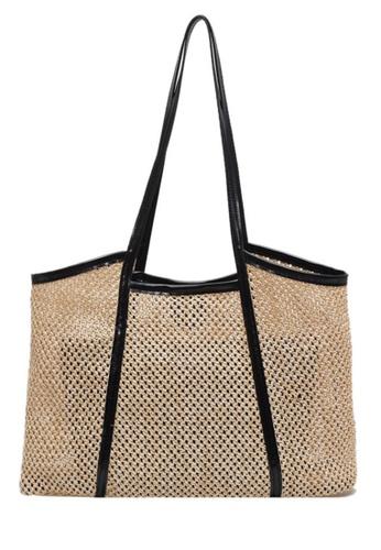 Sunnydaysweety black Western Style Sweet Pastoral Woven Bag Ca21051316BK 5D024ACD49563CGS_1