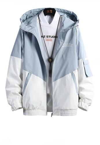 Twenty Eight Shoes blue VANSA  Fashion Hooded Coat VCM-C001 02FCBAA4BE621CGS_1