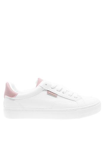 Twenty Eight Shoes 白色 柔軟仿皮運動鞋T6827 8C188SH0E8B6C9GS_1