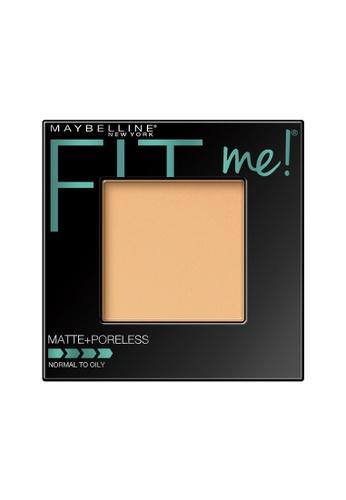 Maybelline Maybelline Fit Me Matte + Poreless Pressed Powder (130 Buff Beige) MA671BE0RW79MY_1