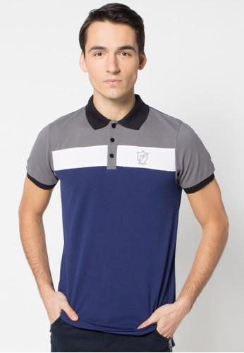 Tricolour Poloshirt