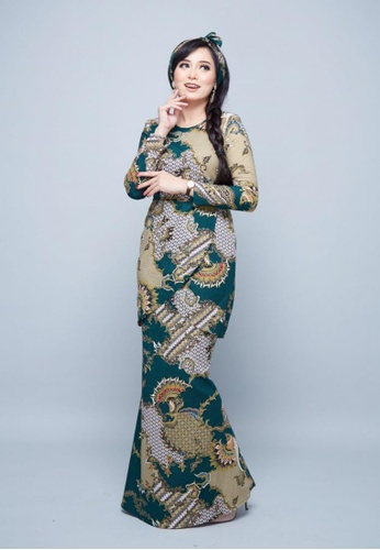 ROSSA COLLECTIONS green PREMIUM EDITION - Batik Sumayyah for Lady D9052AAC8012A3GS_1